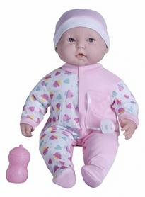 Пупс-великан JC Toys Мечтатель в розовой шапочке 51 см