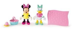 Набор фигурок Minnie&Mickey Mouse Солнечный денек Пикник Минни и Дейзи
