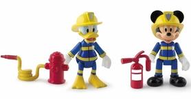 Набор фигурок Minnie&Mickey Mouse Спасатели Отважные Микки и Дональд