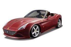 Машинка игрушечная Bburago Ferrari California (1:24) бордо