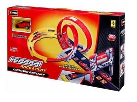 """Набор игровой Bburago GoGears Трек """"Ferrari Двойная петля"""""""
