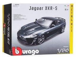 Авто-конструктор Bburago Jaguar XKR-S (темно-зеленый, 1:24)