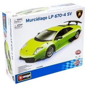 Авто-конструктор Bburago Lamborghini Murcielago LP670-4 SV (зеленый, 1:24)