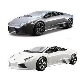 Авто-конструктор Bburago Lamborghini Revention (матовый белый, серый металлик, 1:24)