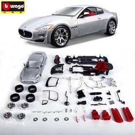 Фото 2 к товару Авто-конструктор Bburago Maserati Gran Turismo (серебристый металлик, 1:24)