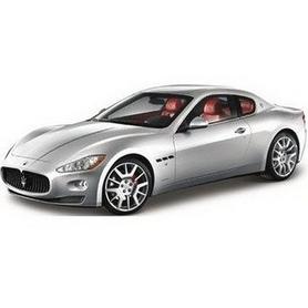 Фото 3 к товару Авто-конструктор Bburago Maserati Gran Turismo (серебристый металлик, 1:24)