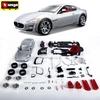 Авто-конструктор Bburago Maserati Gran Turismo (серебристый металлик, 1:24) - фото 2