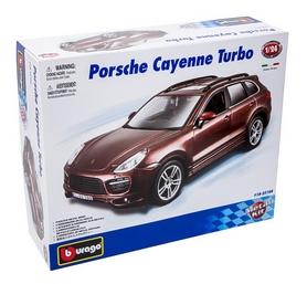 Авто-конструктор Bburago Porsche Cayenne Turbo (коричневый металлик, 1:24)