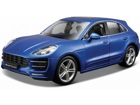 Авто-конструктор Bburago Porsche Cayenne Macan (синий металлик, 1:24)