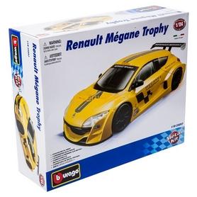 Авто-конструктор Bburago Renault Megane Trophу (желтый металлик, 1:24)