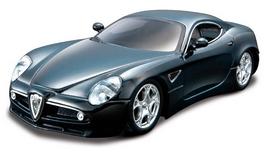 Авто-конструктор Bburago Alfa 8C Competiione (черный, 1:32)
