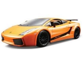 Автомодель Bburago Lamborghini Gallardo Superleggera 2007 (оранжевый металлик, 1:24)