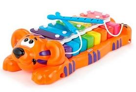 Игрушка музыкальная Little Tikes Тигренок-ксилофон
