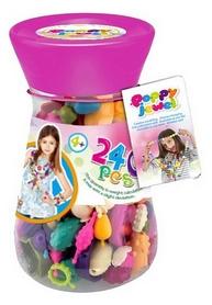 Игровой набор Dave Toy Poppy Jewel для изготовления украшений 240 деталей