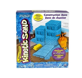 Песок кинетический Kinetic Sand Construction Zone голубой 71417-2