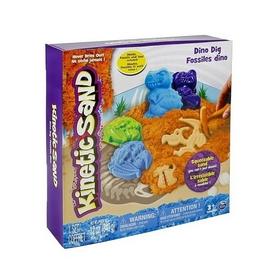Песок кинетический Kinetic Sand Dino голубой 71415Dn