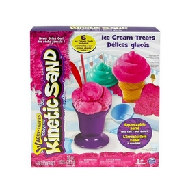 Песок кинетический Kinetic Sand Ice Cream розовый
