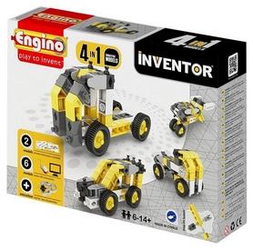 """Конструктор Engino Inventor 4 в 1 """"Строительная техника"""""""