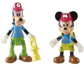 Набор фигурок Minnie&Mickey Mouse Кемпинг Приключения Микки и Гуфи