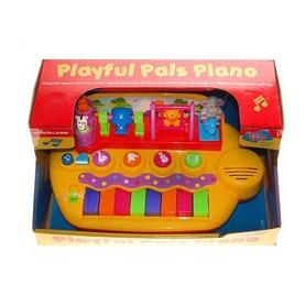 Пианино Kiddieland Зверята на качелях