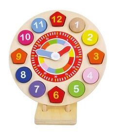 Часы-пазлы деревянные Bino 84051 на подставке