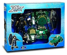 """Набор игровой X-Bot Робот-трансформер """"Танк, Воин"""""""