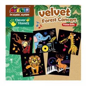 Набор для гравировки Bino Avenir Clever Hands Velvet Forest Concert
