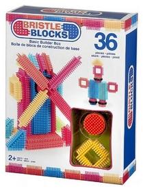 "Конструктор-бристл Bristle Blocks ""Строитель 36 деталей"" 3099Z"