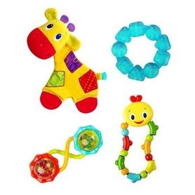 Набор прорезывателей подарочный Kids II желтый