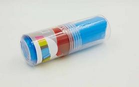 Фото 2 к товару Лента для пилатеса Pro Supra FI-6306-1,2(4) голубая