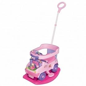 Машинка-толокар чудомобиль Kiddieland Принцесса 3 в 1