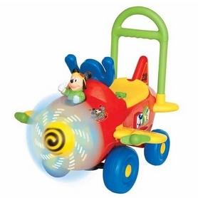 Машинка-толокар чудомобиль Kiddieland Самолет Микки