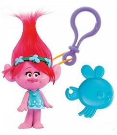 Игрушка с клипсой Тролли Zuru TrollsPoppy 10,5 см розовая
