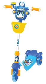 Скутер-самокат с тормозами Yaya Poly, синий