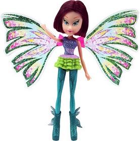 Кукла Winx Sirenix Mini Текна 12 см бирюзовая