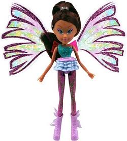 Кукла Winx Sirenix Mini Лейла 12 см фиолетовая