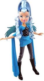 Кукла Winx Trix Волшебница Айси 27 см голубая