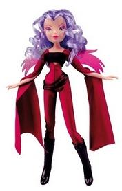 Кукла Winx Trix Волшебница Сторми 27 см малиновая