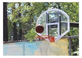 Щит баскетбольный SS00366 (120х95 см)