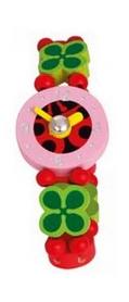 "Часы наручные деревянные Bino 9987128 ""Божья коровка"""