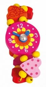 "Часы наручные деревянные Bino 9987129 ""Сердце"""