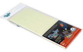 Набор стержней 3Doodler Start из эко-пластика, светящиеся в темноте