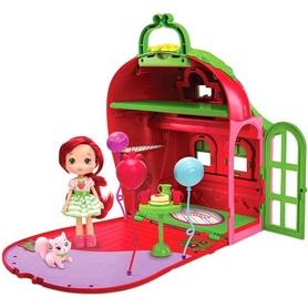 Набор игровой Шарлотта Земляничка -  Ягодный Домик (кукла и аксессуары с ароматом)