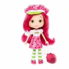 """Кукла Шарлотта Земляничка серии """"Модные прически"""" - Земляничка 15 см розовая"""