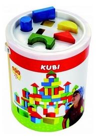 Кубики деревянные в ведре Bino (100 деталей) 84196