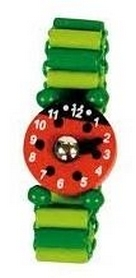 Часы-пазлы Bino 9987118 зеленые