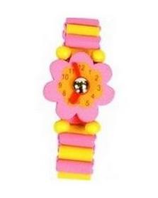 Часы-пазлы Bino 9987119 розовые