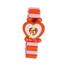 Часы-пазлы Bino 9987121 красные