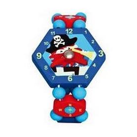 """Часы-пазлы Bino """"Пират"""" 9086037 синие"""