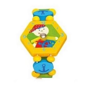 """Часы-пазлы Bino """"Пират"""" 9086038 желтые"""